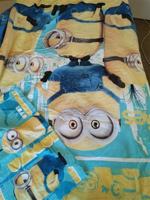 Minion single bed set for sale