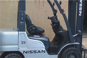 2.5ton Nissan petrol forklift