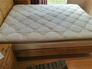Mattress, queen size, extra length