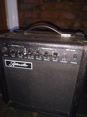 15 watt guitar amp!
