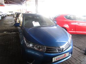 2014 Toyota Corolla 1.6 Advanced