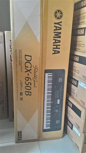 Yamaha DGX-650 Digital Piano With Stand and Bench