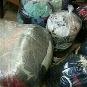 Secondhand clothing bales