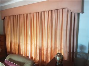 Curtains with pelmets for sale