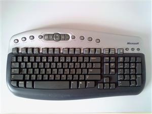 Keyboard Microsoft wireless. See the picture for more info. R150. I am in Orange Grove.