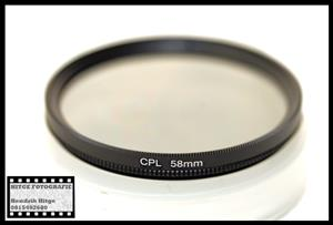 58mm - Circular Polarized Filter
