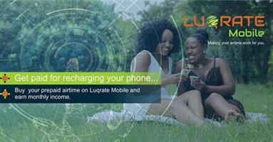 Get paid for buying airtime using Luqrate Mobile app Urgent