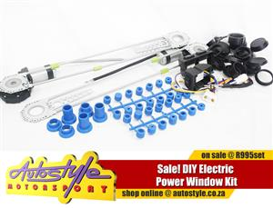DIY Electric Window Kit