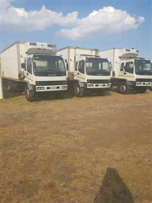 2007 Isuzu FVR900 fridge trucks for sale