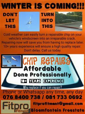 Windscreen Chip Repairs (Quality Guaranteed)