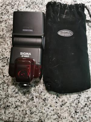 Sigma EF-430 ST for sale