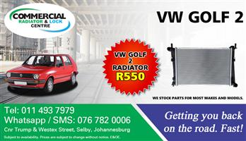 VW Golf 2 Radiator For Sale.