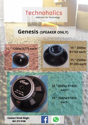 Genesis Replacement Speakers   Junk Mail