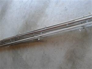 aluminium curtain railings
