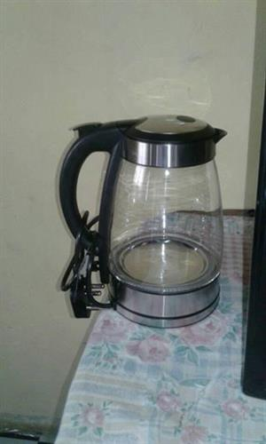 Glass kettle for sale