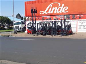 LINDE FORKLIFTS FOR SALE - 10% DISCOUNT JANUARY