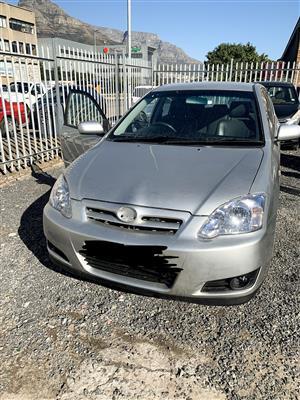 2005 Toyota RunX 160 RX