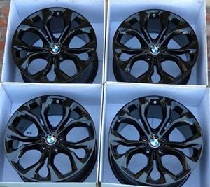 BMW X5 rims and tyres