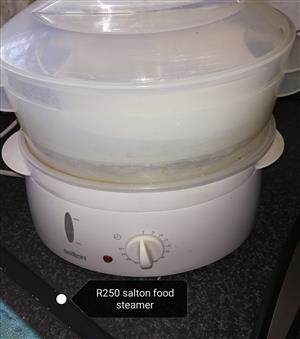 Salton food steamer and elite gourmet griller