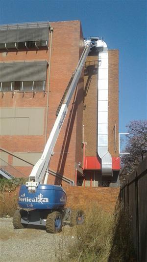 12. VerticalZA JLG600S - 20m Cherry Picker Boom Lift, TELESCOPIC Manlift