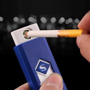 Electric Mini USB Cigarette Cigar Lighter Rechargeable Flameless Windproof Cigarette Lighter