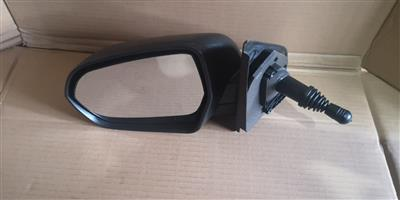 CHEV UTILITY NEW LEFT MANUAL DOOR MIRROR FOR SALE