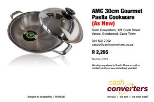 AMC 30cm Gourmet Paella Cookware (As New)