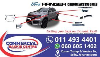 chrome ford ranger accessories