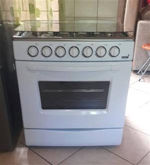 Totai 6 Burner gas stove with gas oven