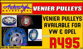 vernier pulley pulleys available for VW, volkswagen and opel, brand new