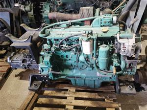 Volvo ec210 engine and hydraulic pump
