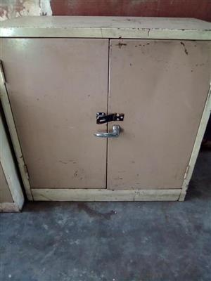 2 Door mini steel cabinet for sale