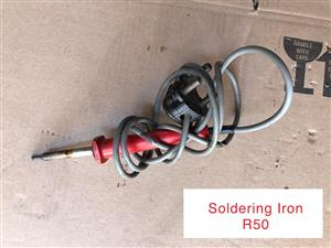 Soldering iron for sale