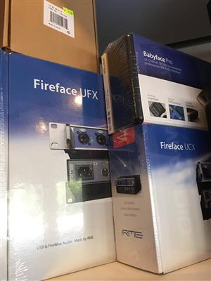 New RME Fireface UFX