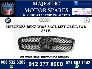 Mercedes benz w203 face lift grill for sale