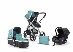 Baby Buggz Triplicity 3 in 1 system -Green