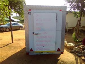 We are renting Mobile chiller