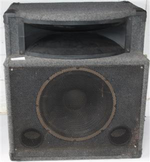 S035175B Dixon 15 inch sub/bass bin in box #Rosettenvillepawnshop