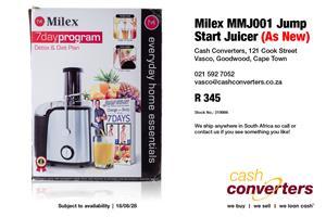 Milex MMJ001 Jump Start Juicer (As New)