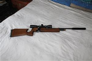 CZ 200 S Air Rifle with bag