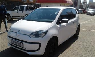 2014 VW up! club  3 door 1.0
