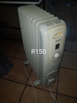 Salton electric oil heater