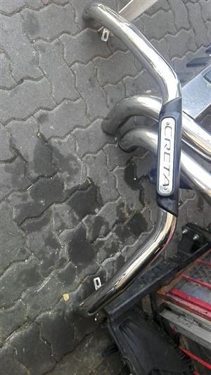 Hyundai creta front bullbar