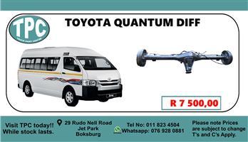 Toyota Quantum Diff - For Sale at TPC