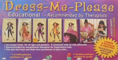 NEVER A DULL MOMENT WITH DRESS-ME-PLEASE EDUCATIONAL DOLLS! Ideal for Creches Day Care Centres....