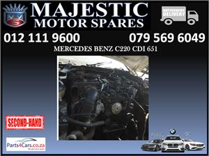 Mercedes benz C220 cdi engine for sale