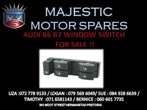 AUDI B6 B7 WINDOW SWITCH
