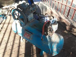 120L Twin Cylinder Compressor w/o electrical motor