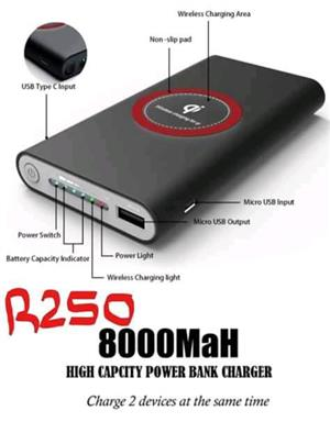 High capacity powerbank charger