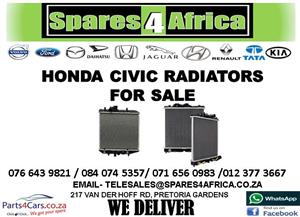 HONDA CIVIC USED RADIATOR FOR SALE